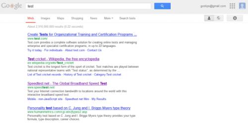 Как активировать новый навигационный интерфейс Google