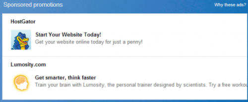 «Реклама от спонсоров» в Gmail