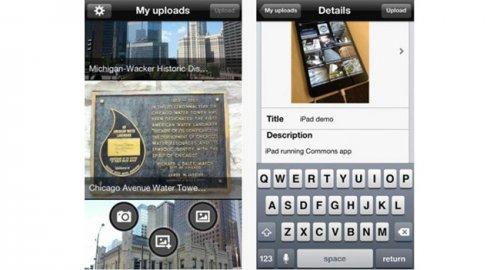 Wikimedia Commons - мобильное приложение для отправки изображений в Wikipedia