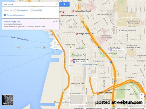 В сервисе Google Maps появится новый интерфейс