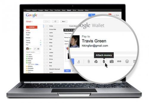 В аттачментах Gmail теперь можно пересылать деньги