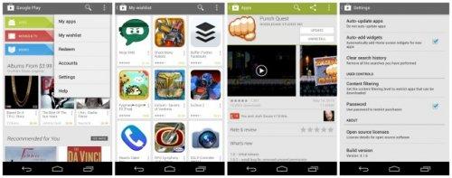 Google обновила магазин Play и устранила ряд недостатков