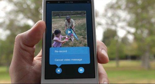 Microsoft запустила службу видеосообщений для всех пользователей Skype
