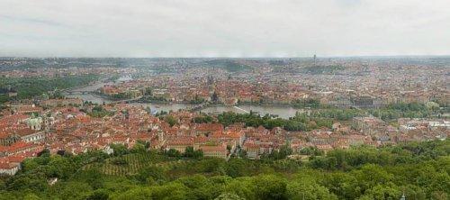 В Сеть выложили 34-гигапксельную панораму Праги