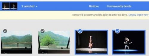 Корзина Google+Фото