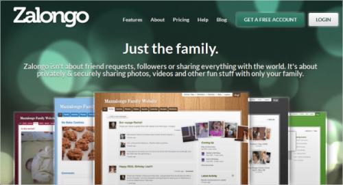 Zalongo.com - Новая социальная сеть, только для вашей семьи
