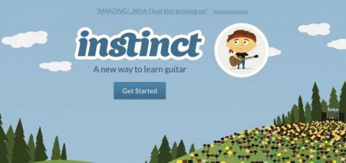 Get Instinct — онлайновый самоучитель игре на гитаре