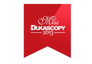 Стартовал интернет конкурс красоты – Miss Dukascopy 2013. Главный приз – шоппинг на 250 000$