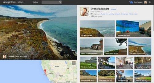 В Google Maps появилась новая функция Views