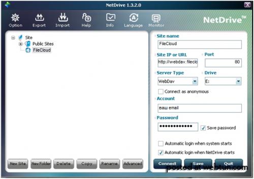 FileCloud.me - сервис синхронизации социальных сетей!