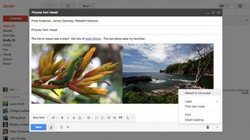 Google ������������ ��������� �� ������ ����������� Gmail