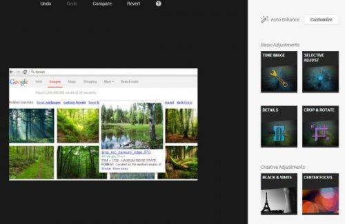 Новый фоторедактор Google+