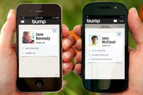 Google приобрела Bump, разработчика технологии передачи данных