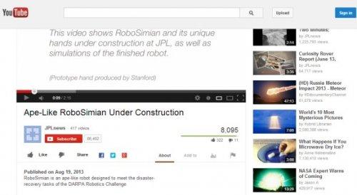 YouTube тестирует плавающую «шапку»