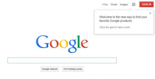 Новый навигационный интерфейс Google постепенно появляется увсех
