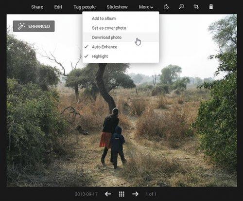 Google Plus - лучший онлайн редактор фотографий