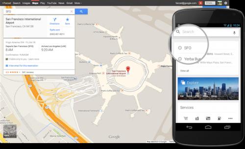 Google вернула многоцелевые маршруты в веб-версии Google Maps
