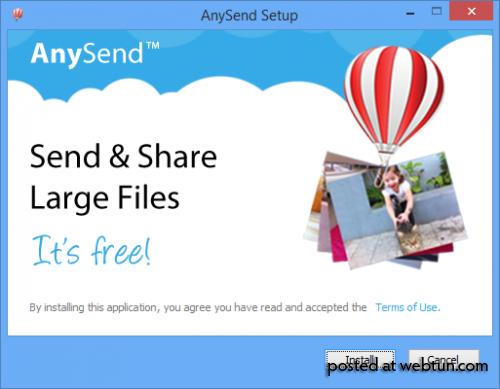 Отправляем большие файлы через AnySend. Всё проще чем кажется