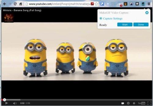 Создаём GIF-анимацию из видео на YouTube