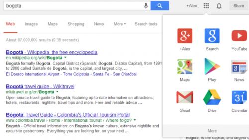 Особенности новой навигационной панели Google