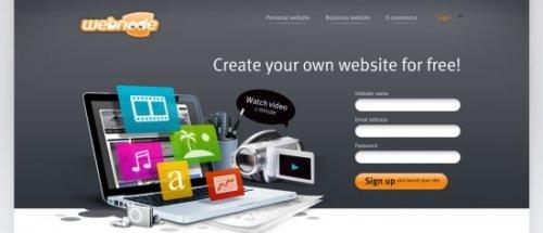 Десятка лучших бесплатных конструкторов сайтов
