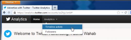 Пользуемся Twitter Analytics для просмотра и экспорта хроники