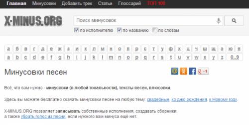 Подборка веб-сервисов для поиска мелодий в Сети