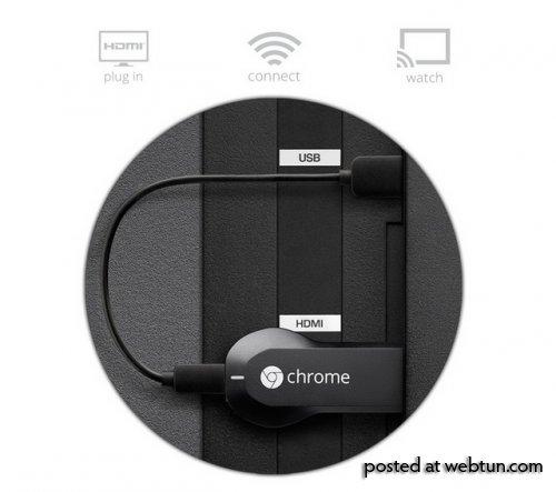 Приложение Google Chromecast стало доступно для всех