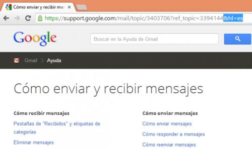 Как временно изменить язык интерфейса влюбом сервисе Google