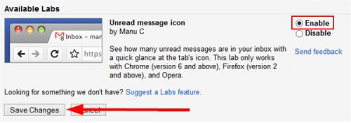 Управляем Gmail из специальной панели в Firefox