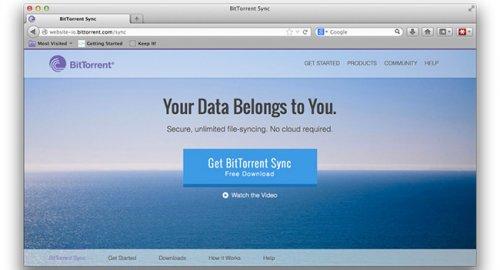 Обновление BitTorrent Sync 1.2 принесло повышение скорости работы, поддержку iOS7 и API для разработчиков