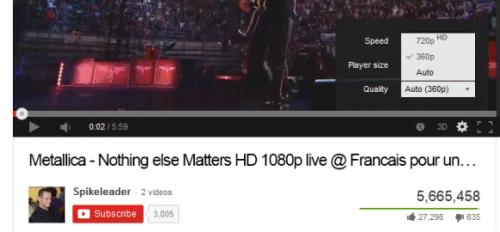 YouTube прекращает поддержку неадаптивных потоков с качеством 1080p в HTML5-плейере