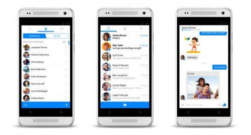 Facebook выпустила новую версию Messenger для пользователей Android и iPhone