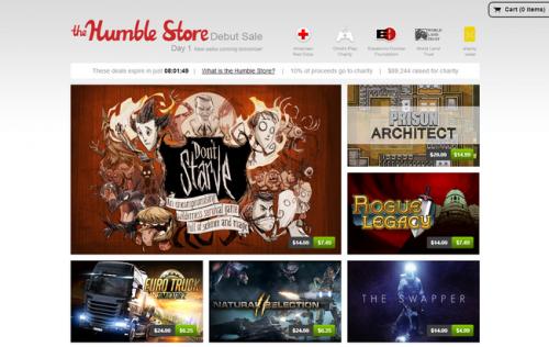 Сервис Humble Bundles запустил собственный магазин игр