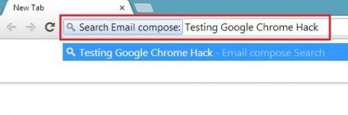 Как модернизировать Google Chrome, чтобы писать письма прямо из адресной строки
