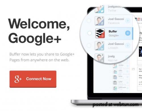 Как использовать приложение Buffer, чтобы планировать сообщения в Google+