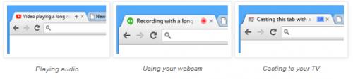 В Chrome появится индикатор использования веб-камеры и колонок