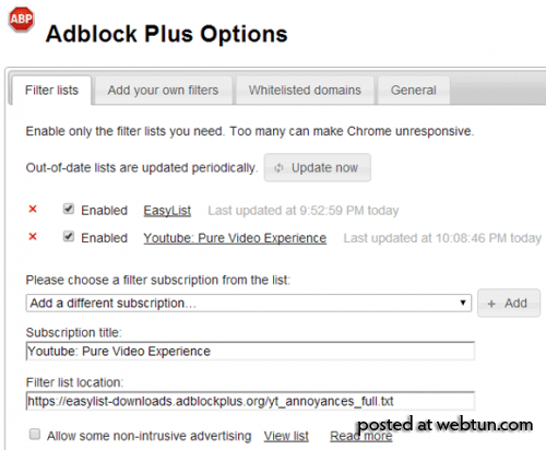 AdBlock Plus ����� ����������� ��� ������� �� YouTube