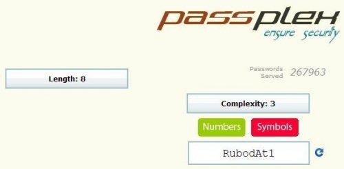 Создаем сложные пароли с помощью генераторов