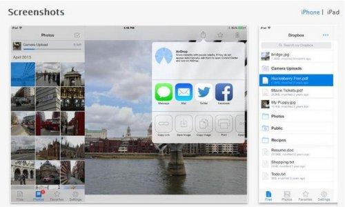 Обновление мобильной версии приложения Dropbox для iOS-устройств принесло новый дизайн и поддержку AirDrop
