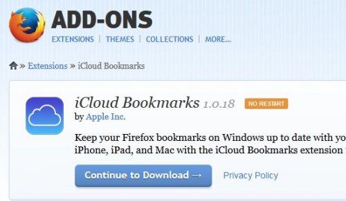 Как синхронизировать закладки в Chrome и Firefox с учетной записью  Apple  Icloud