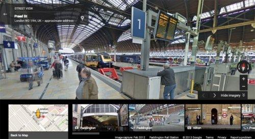 Google Street View пополнился панорамными снимками вокзалов, аэропортов и станций метро