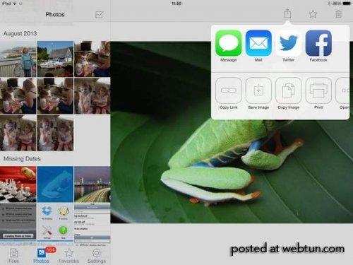 Обновленный клиент Dropbox для iOS получил поддержку новых технологий
