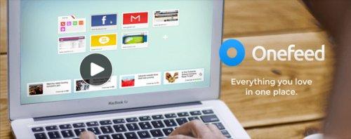 OneFeed: украсьте свою страницу новой вкладки
