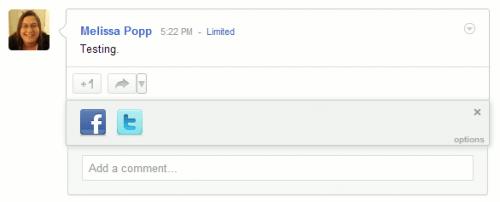 Увеличиваем функциональность кнопки Google Plus