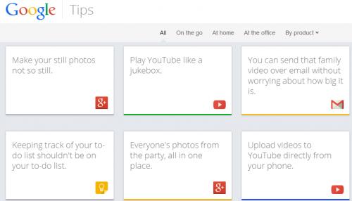 Если кто ещё не знает как правильно использовать продукты Google