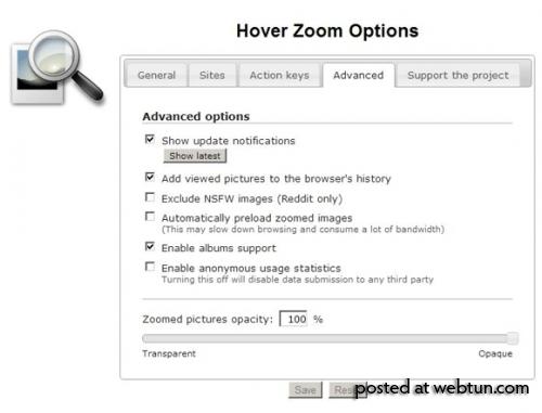 Расширение HoverZoom для Chrome шпионит за пользователями