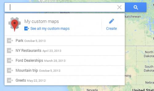 Пользовательские карты на новых Картах Google