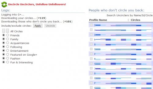 Как узнать, кто не следует за вами в Google+