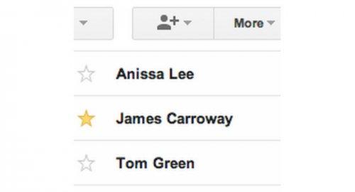 Теперь важные контакты учетной записи Google можно отмечать звездочкой